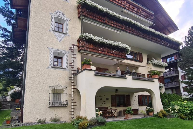REF 2163: CATWALK Katzentreppe 215 cm in GR-Klosters