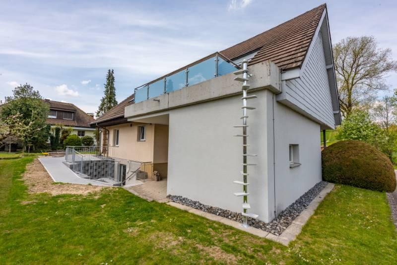 REF 1846: CATWALK Katzentreppe 360 cm in AG-Vordemwald