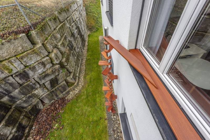 REF 974: CATWALK Katzentreppe 370 cm in ZH-Winkel