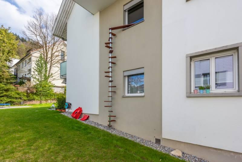 REF 1953: CATWALK Katzentreppe 410 cm in BE-Spiegel b. Bern