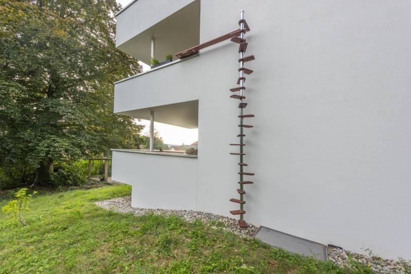 CATWALK Katzentreppe 440 cm in AG-Möhlin