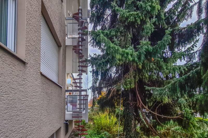 REF 1596: CATWALK Katzentreppe 450 cm in ZH-Dietikon