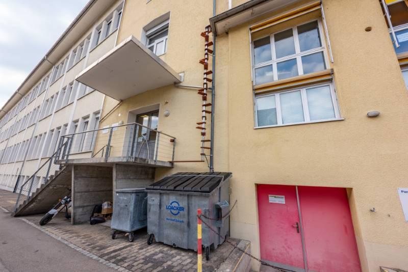 REF 1871: CATWALK Katzentreppe 500 cm in SG-Rorschach
