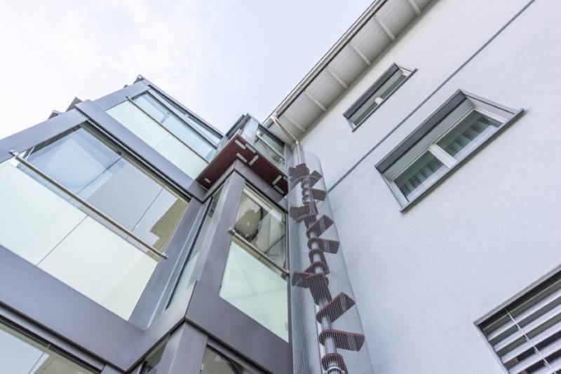 REF 743: CATWALK Katzentreppe 750 cm in ZH-Rüti