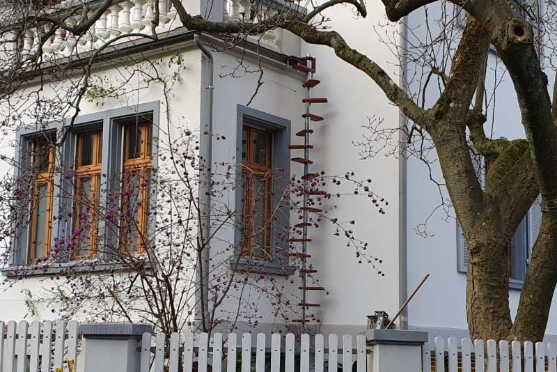 CATWALK Katzentreppe 450 cm in BS-Basel